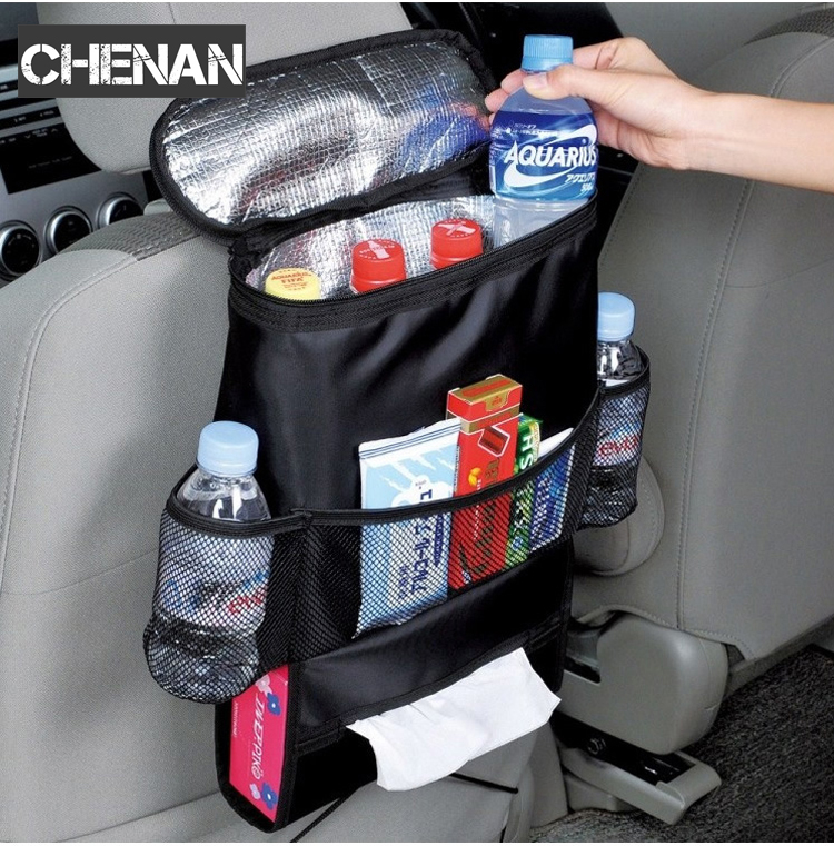 Auto font b Care b font Car Seat Organizer Cooler Bag Multi Pocket Arrangement Bag Back