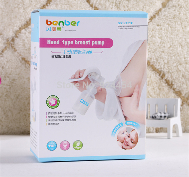 Manual Hand Type Feeding Breast Pumps Baby Milk Bottle Nipple With Sucking Function Baby Products Baby Care With Original Box