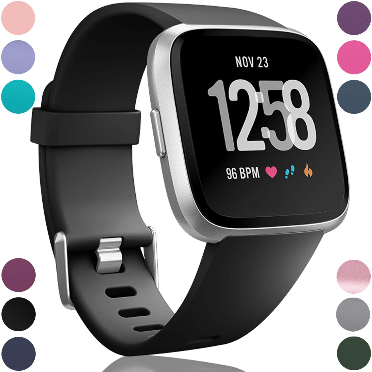 Bracelet Watchband-Accessories Coolaxy-Band Versa-Strap Smart-Watch Fitbit Replacement