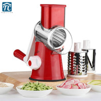 Mandoline Vegetable Slicer Carrot Grater Vegetable Chopper Onion Cutter With 3 Blades Kitchen Accessories Cooking Tools