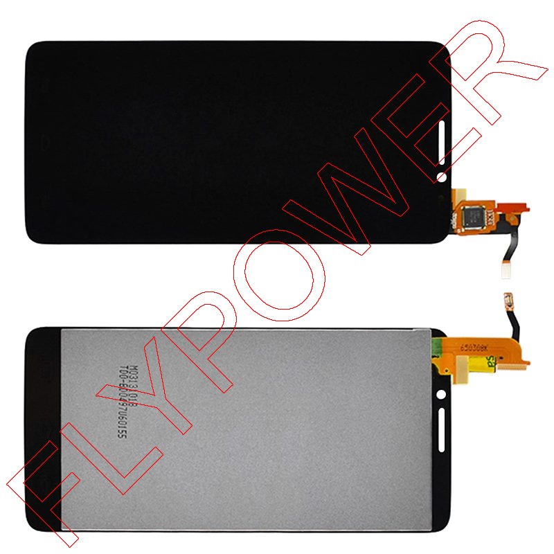 ФОТО FOR TCL idol X S950 MTK6589T LCD Display Touch Screen Digitizer Assembly by Free shipping; Black; 100% Warranty