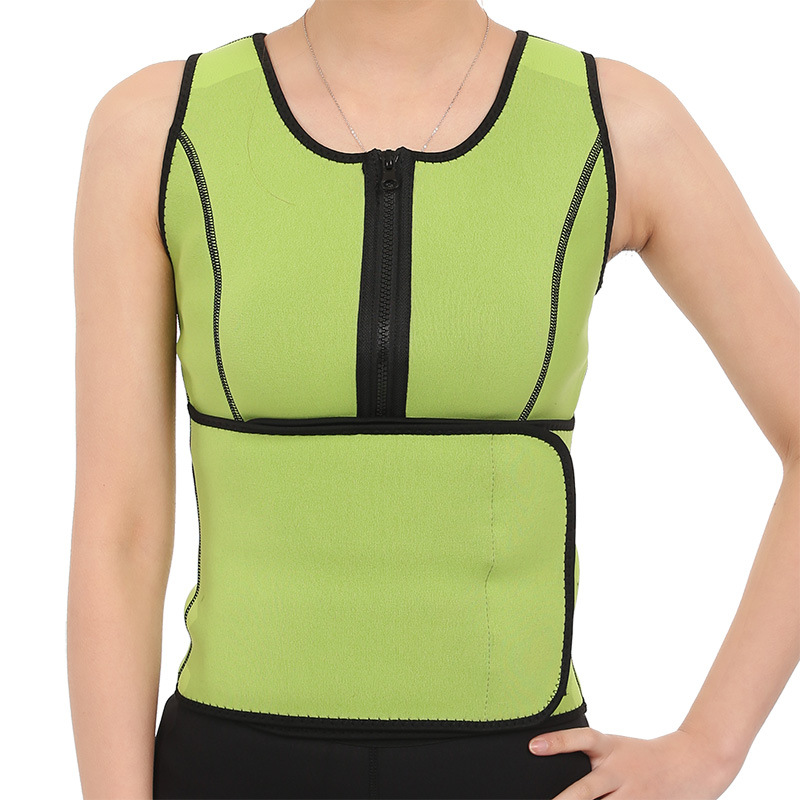 Best Selling 2018 Products Breathable Mesh Losing Weight Belly Fat Burning Body Stomach Neoprene Slimming Vest Corset for Women
