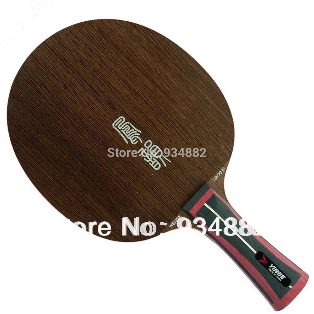 Yinhe WENGE NANO NW-51 (NW51, NW 51) Table Tennis (PingPong) Blade yinhe milky way galaxy nr 50 rosewood nano 50 table tennis pingpong blade