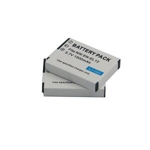 Image 3 - 1500mAh EN EL12 EN EL12 Batterie pour Nikon CoolPix S610 S610c S620 S630 S710 S1000pj P300 P310 P330 S6200 S6300 S9400 S9500 S9200