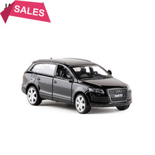 Brand New 1/43 Audi Q7 V12 Diecast Metal Car Model Toy With Pull Back For Kids Christmas Gift Toys Free Shipping(China)