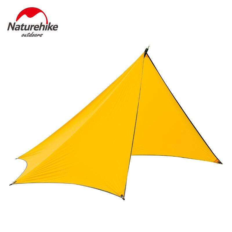 Naturehike открытый палатка 3-4 человек большой Семья палатки Водонепроницаемый пляж быстрой построен палатки оранжевый серый NH15T003-M