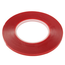 6mm x 10m Brand Strong Super Double-sided Clear Transparent Acrylic Foam Adhesive Tape Double Sided Acrylic Foam Tape