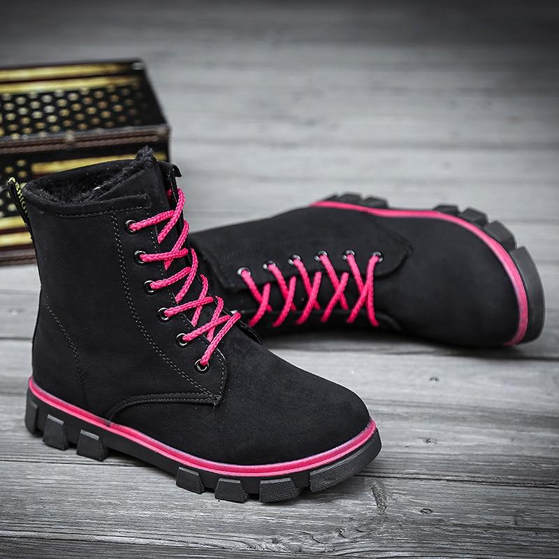 blanco Mujer Las El Snowboard Feminina Para Tobillo Bota Negro Grande Plataforma Zapatos Mujeres Bootswinter Algodón De gris Tamaño Señoras Botas brown xvtwR707