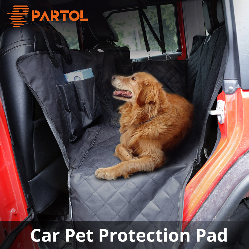 Partol Oxford Cloth Pet Dog Car Seat Covers Waterproof Back Bench Seat Travel Accessories Auto Seat Cover Mat 2 in 1 Carrier Bag partol oxford cloth pet dog car seat covers waterproof back bench seat travel accessories auto seat cover mat 2 in 1 carrier bag