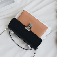 Трёхцветная сумочка на плечо