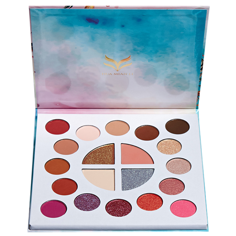 20 Colors Dreamy Eyeshadow Pallete Shimmer Matte Glitter EyeShadow Palette Pigment Makeup Eyeshadow Palette Cosmetic in Eye Shadow from Beauty Health