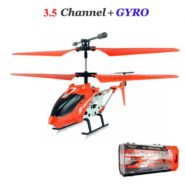 35ch Rc Helicopter Remote Control Aircraft Alloy Luxury Gift