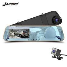 Jansite Auto DVR 1080 P Dual camera retrovisore Auto specchio della fotocamera Dash cam Auto Registrator registrazione Automatica di copertura