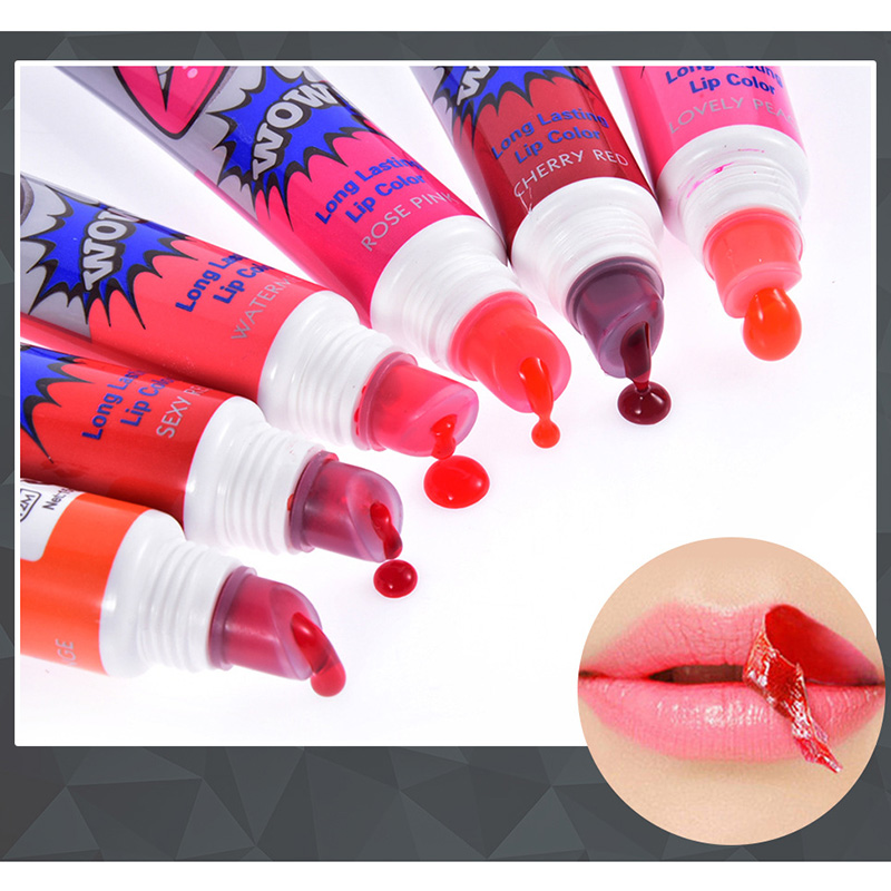 Romantic Peel Off Lipstick Tearing Type Lip Gloss Film Magic Long Lasting Lip Tattoo Makeup Lip Tint MH88