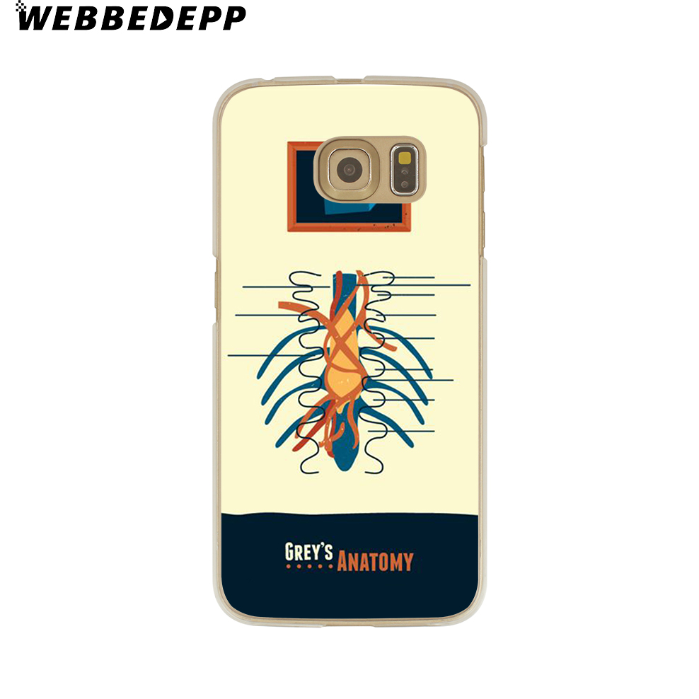 WEBBEDEPP Grey Anatomy TV Case for Samsung Galaxy S9 S8 Plus S7 S6 ...