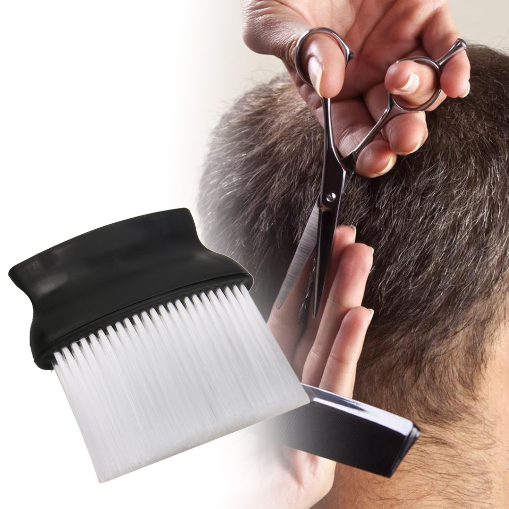 Pro Salon Hairdressing Brush Soft Salon Hair Cutting Neck Duster Brush For Salon Keep Necks Clean Hairdresser Brush