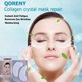 Qoreny máscaras de tratamento do olho aliviar atualizar olhos com aloe e vitamina e & uma super hidratação da pele colágeno aumentando 5 par eua marca