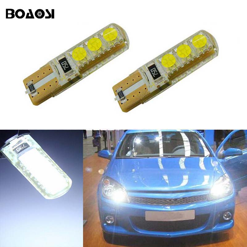 BOAOSI 2x Car LED T10 Canbus W5W No error Wedge Light For Opel Zafira A B Vauxhall Zafira Corsa C Cambo D Vauxhall Corsa 3 Van deechooll 2pcs wedge light for mazda 2 3 5 6 mx5 rx8 cx7 626 gf gg ge gw canbus t10 57smd 6w led clearance xenon lighting bulbs