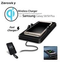 Zerosky 제나라 무선 자동차 충전기 삼성 S8 S8 플러스