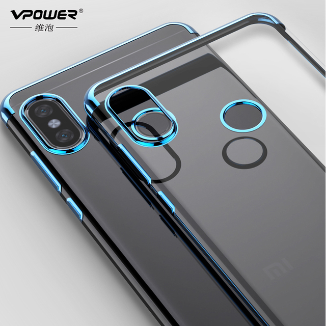 low priced 992e8 aa6cf US $2.27 20% OFF|VPOWER For Xiaomi Redmi Note 5 Pro redmi 5 plus Case  painted tpu Crystal clear case Cover For Xiaomi Redmi Note 5 pro note 5-in  ...