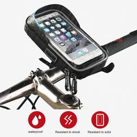 WHEEL UP TPU Waterproof Touch Screen Bicycle Bag Rainproof Cycling Bike Cellphone Holder For 6 0