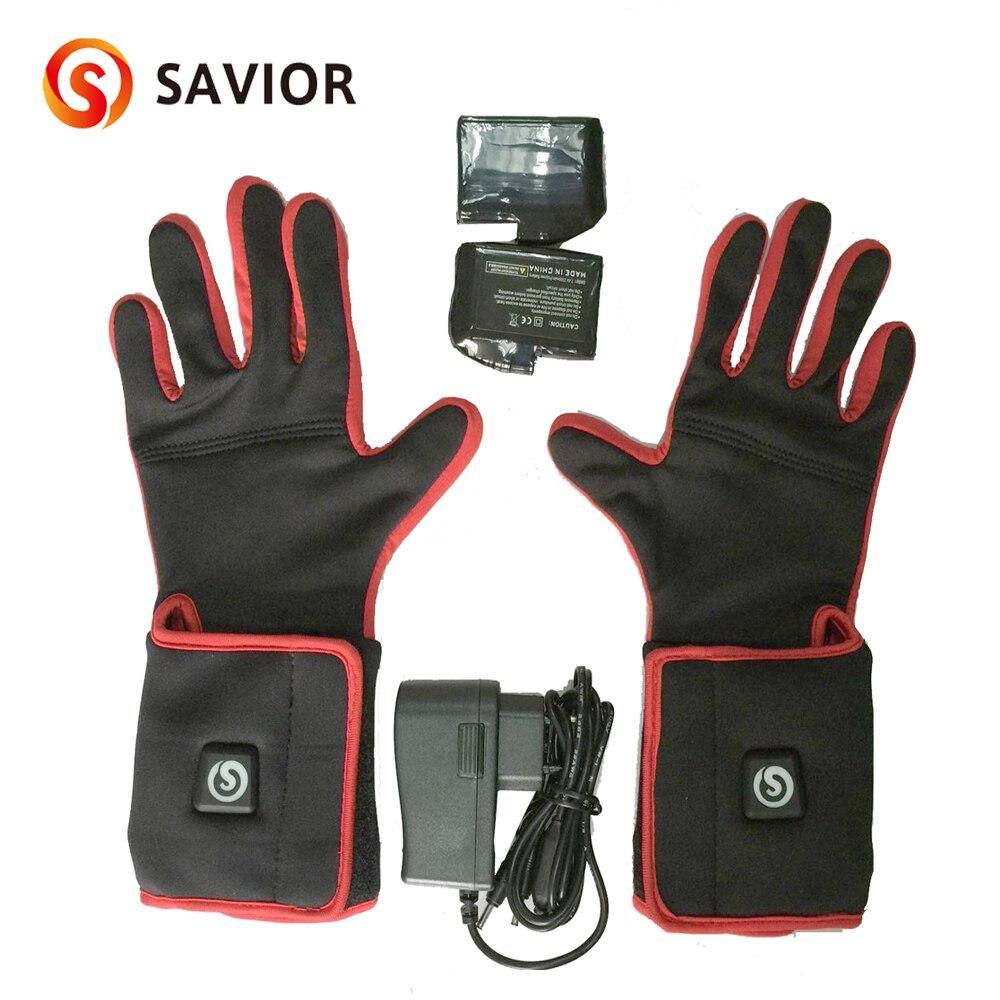 Saviour Smart batteriegeheiztes Handschuhfutter zum Reiten, - Angeln - Foto 6