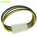 Durable PCI-E 8pin Male to 8 pin Female PCI Express Power Extension Cable 6+2 Pin for PCIe Video Card GPU CPU 18AWG