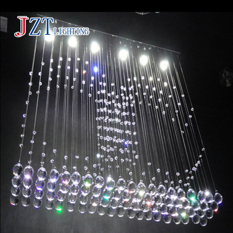 Z Best price New Restaurant Hanging Wire Crystal Lamp LED Curtain Partition Crystal Chandeliers Bedroom Living room Crystal best price creative pyramid crystal light bedroom restaurant lamp led hanging wire crystal lamp ceiling lights free shipping