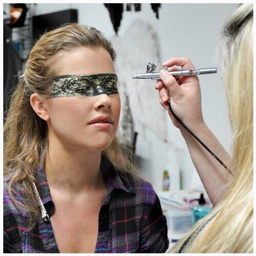 все цены на Professional Airbrush Makeup Kits TC12 12V DC Mini airbrush compressor онлайн