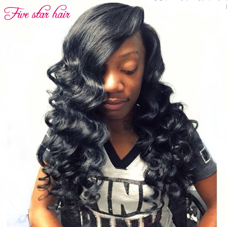 Top grade Wavy Silk Top Full Lace wig with baby hair 100% Peruvian virgin hair Lace Front human hair wigs with baby hair
