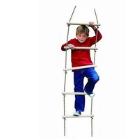 Fun Sports Wood Rope Ladder Toys Outdoor Indoor Floor Games Toys For Kids Climbing Swing Wooden