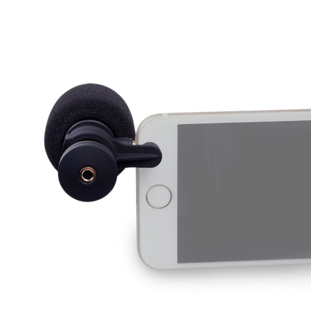 COMICA CVM-VS08 VS08 Microphone vidéo à condensateur directionnel cardioïde pour Smartphone iPhone Samung avec coupe-vent avec coupe-vent