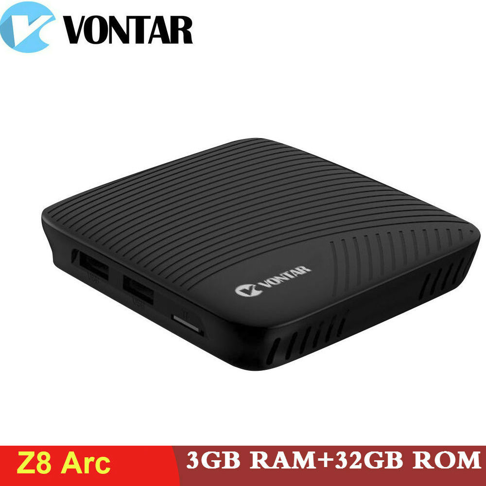 Vontar Z8 Arc 3G/32G DDR4 4 K Smart TV BOX Android 7.1 Amlogic S912 OctaCore PK x92 Beelink GT1 Lettore Multimediale 2.4G/5.8 GHz WIFI BT