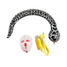 Новая смешная игрушка для питомца Новинка-сюрприз розыгрыш RC машина Змея с дистанционным управлением Динозавр яйцо радио управление Лер Китинг кошка и собака
