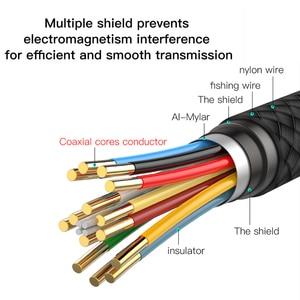 Image 2 - Baseus USB C إلى HDMI كابل نوع C إلى HDMI محول Thunderbolt 3 ل ماك بوك باد برو 2018 هواوي Mate20 برو 4K فيديو كابل USB C