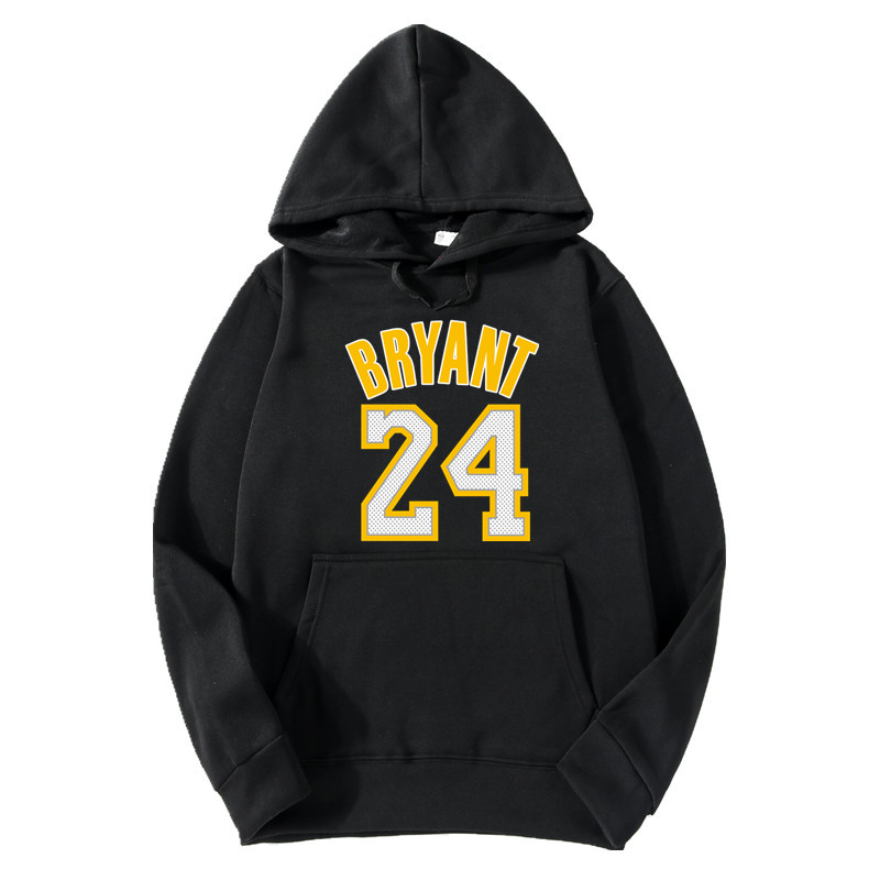 2018 Brand New Fashion BRYANT 24 Men Sportswear Print Men Hoodies Pullover Hip Hop Mens Tracksuit Sweatshirts Clothing