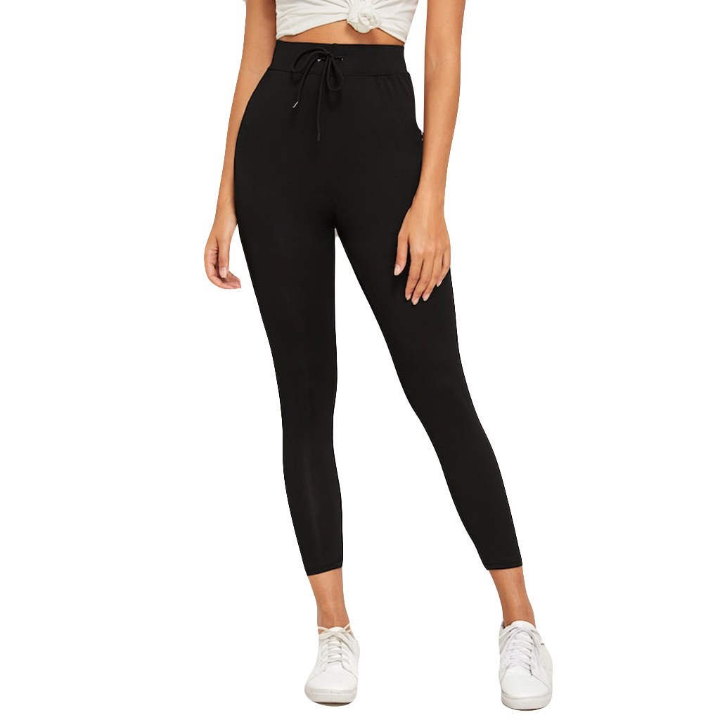 https://ae01.alicdn.com/kf/HTB1dpEpeMaH3KVjSZFjq6AFWpXaT/2019-Spring-Summer-New-Women-Fashion-Solid-Color-Drawstring-Elastic-Soft-Leisure-Comfortable-Puls-size-Sport.jpg