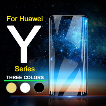 Protective Glass on the for huawei y 5 2017 Y7 Y6 Y9 Y3 Pro Prime ii 2018 Tempered Glas Y 5 6 7 9 Y6prime 6y 5y Screen Protector image
