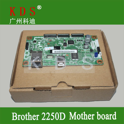 Original matherboard for brother HL2250DN  formatter board for brother printer parts LV0567001 remove from new machine original matherboard for brother mfc7340 formatter board for brother 220v only lt226001 remove from new machine