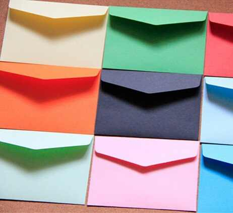 10pcs/lot  Candy color mini envelopes DIY Multifunction Craft Paper Envelope For Letter Paper Postcards School Material