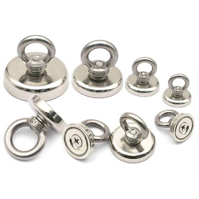 Super strong powerful Circular Ring Neodymium magnet permanent  magnetic Lifting tool Salvage Suction cup Industrial MagnetSuper strong powerful Circular Ring Neodymium magnet permanent  magnetic Lifting tool Salvage Suction cup Industrial Magnet