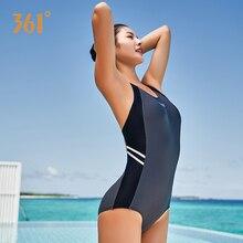 361 Women Sexy Swimwear Bandage Triangle Professional Sports One Piece Push Up Backless Bikini Pool Bathing Suit