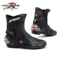 Riding Tribe Motorcycle Boots Men Bota Motocross Botas Moto Motorboats Shoes Motorbike Racing Career Bicycle Speed Boots