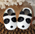 Top quality Genuine leather panda patten baby moccasins shoes First Walkers Anti-slip First Walkers For Baby Boy Girls shoes