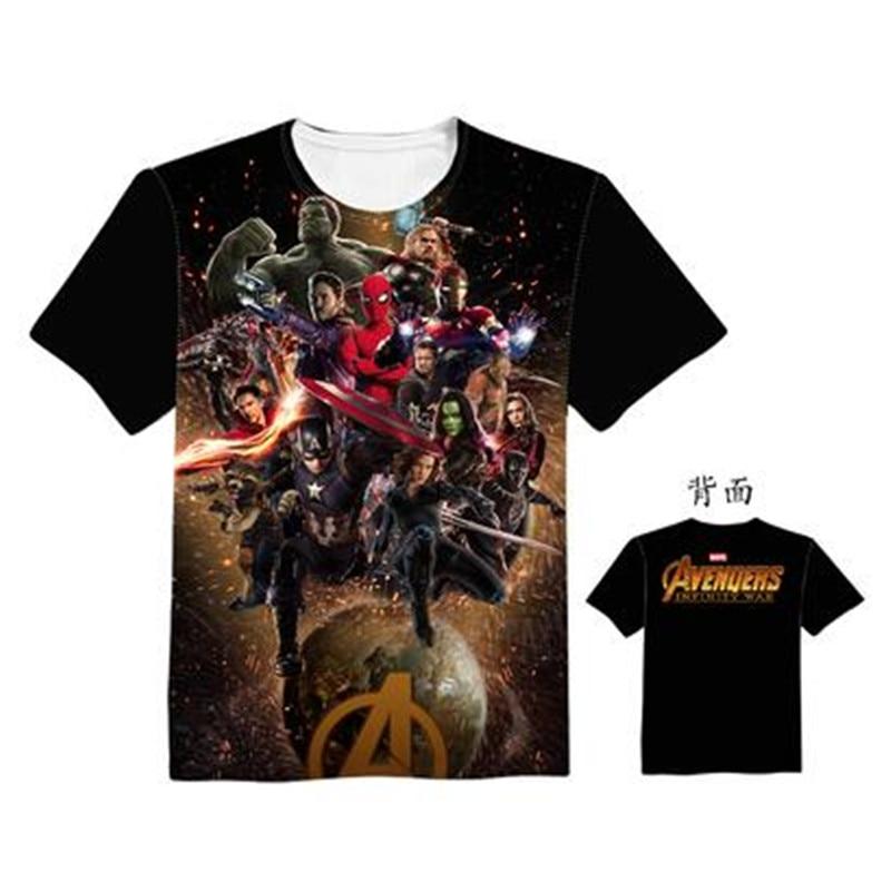 Woman Man Avengers 3 Infinity War Superhero Movie Lovely Printing Custom Made T-shirt Tees Christmas Gift