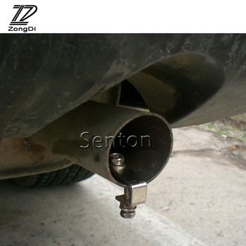 ZD Turbo Sound Whistle Simulator Car Exhaust Pipe Tip For BMW F30 F10 F20 E46 E39 E90 E60 E36 Skoda Octavia A5 A7 Superb Yeti image