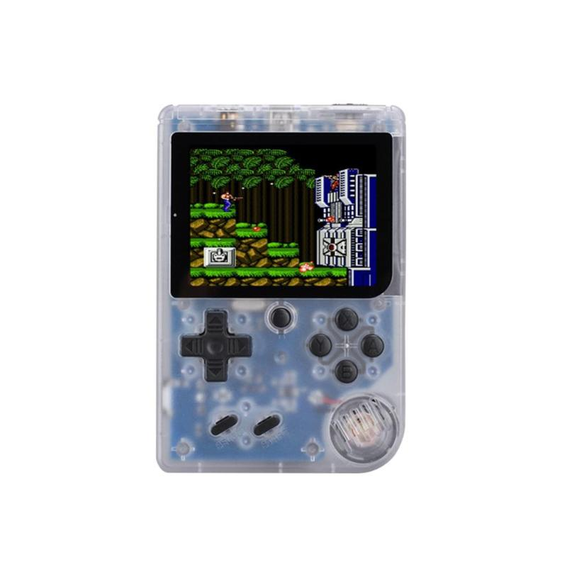Game Console 8 Bit Retro Mini Pocket Handheld Player +Handle Built-in 168 Classic Games Best Gift for Child Nostalgic Player 16