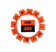 Carbon 23 Keys PBT keycap Dye Sublimated MX switch mechanical keyboard keycap cherry profile