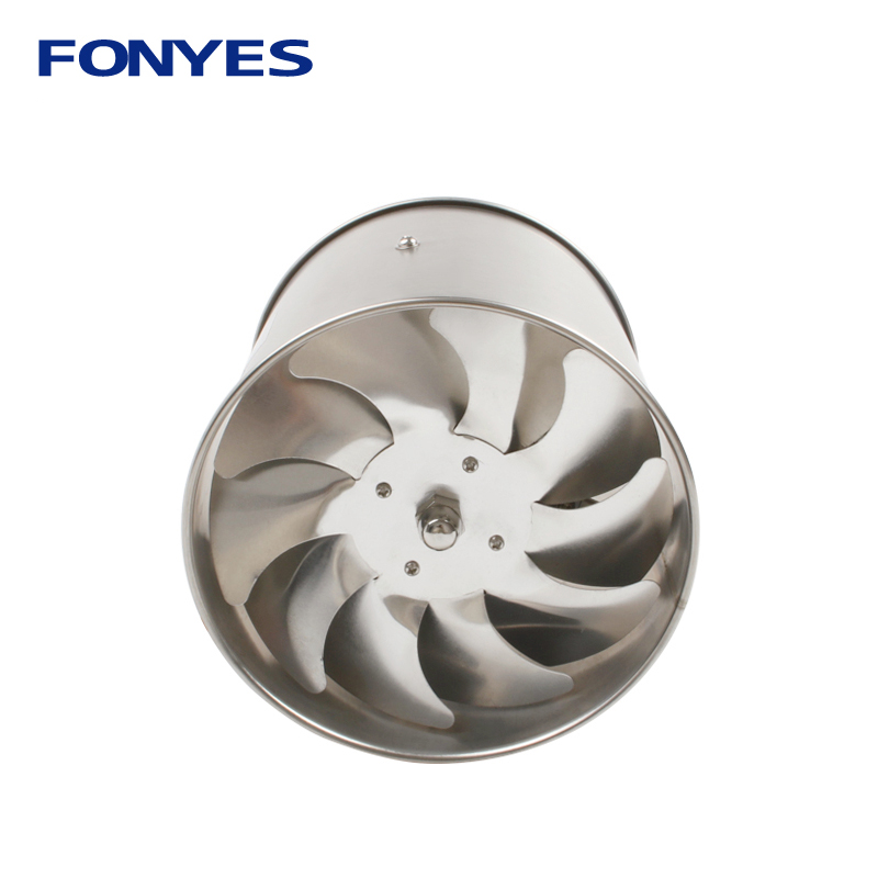 stainless steel 6 inch inline duct fan high speed ventilator pipe ventilation kitchen exhaust fan extractor wall fan 150mm 220Vstainless steel 6 inch inline duct fan high speed ventilator pipe ventilation kitchen exhaust fan extractor wall fan 150mm 220V