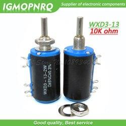 2 uds WXD3-13-2W 10K ohm WXD3-13 2W Rotary lado multivuelta rotativa potenciómetro bobinado IGMOPNRQ